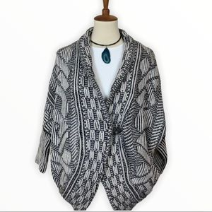 Lara Knit Aztec Print Bat Wing Cardigan Sweater